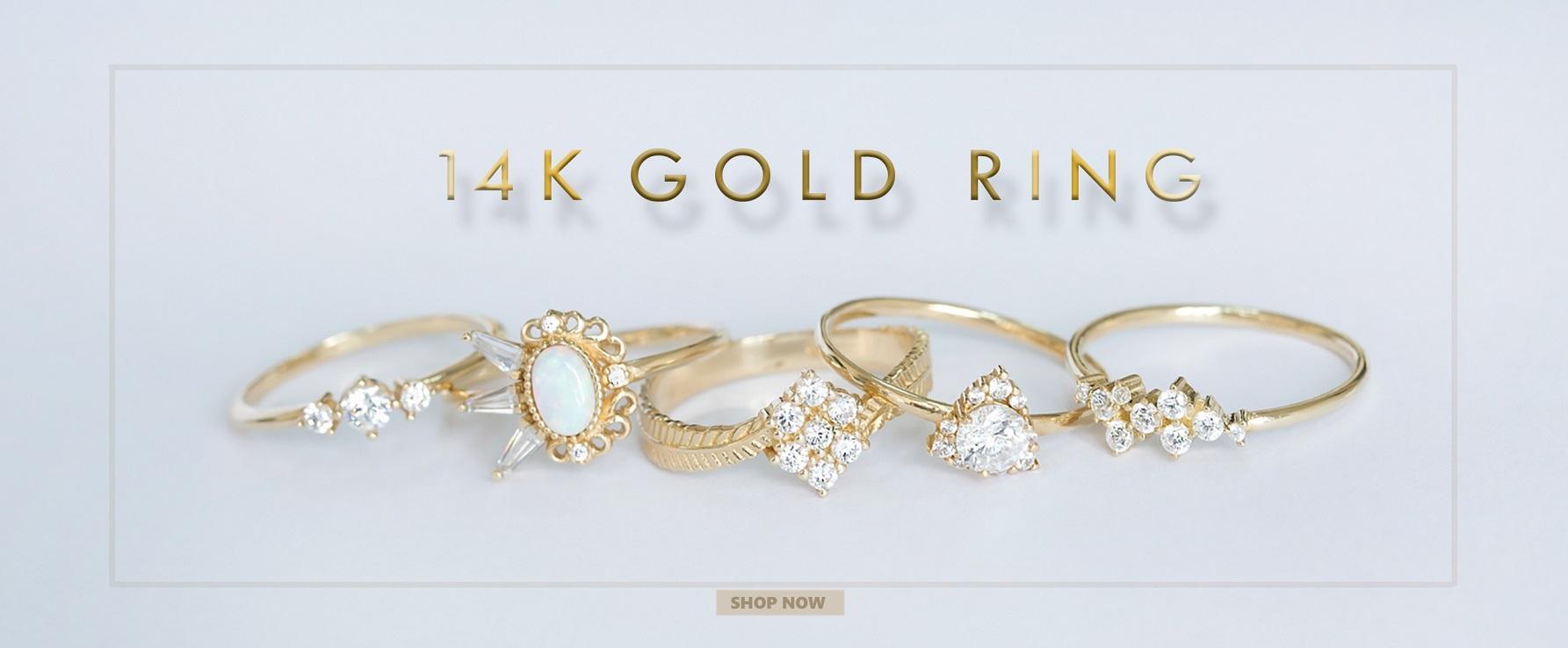 14K Ring Jewelry