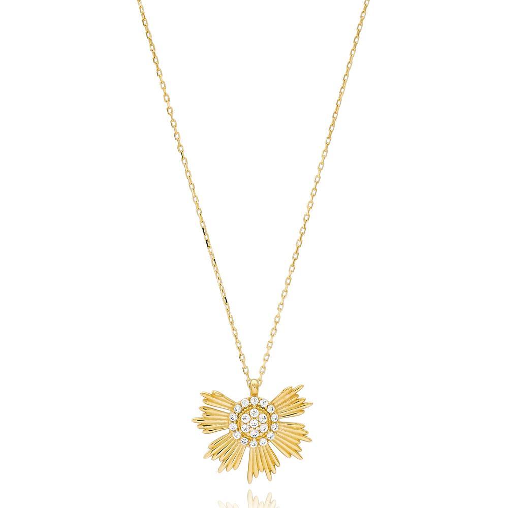 Delicate Turkish Wholesale Handmade 14k Gold Necklace