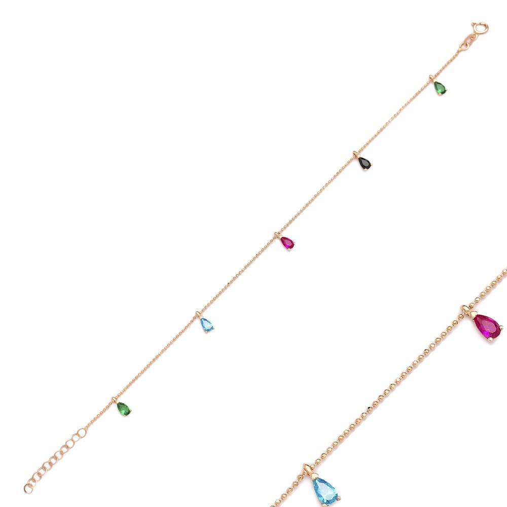 Colorful Shaker Turkish Wholesale 14k Gold Bracelet