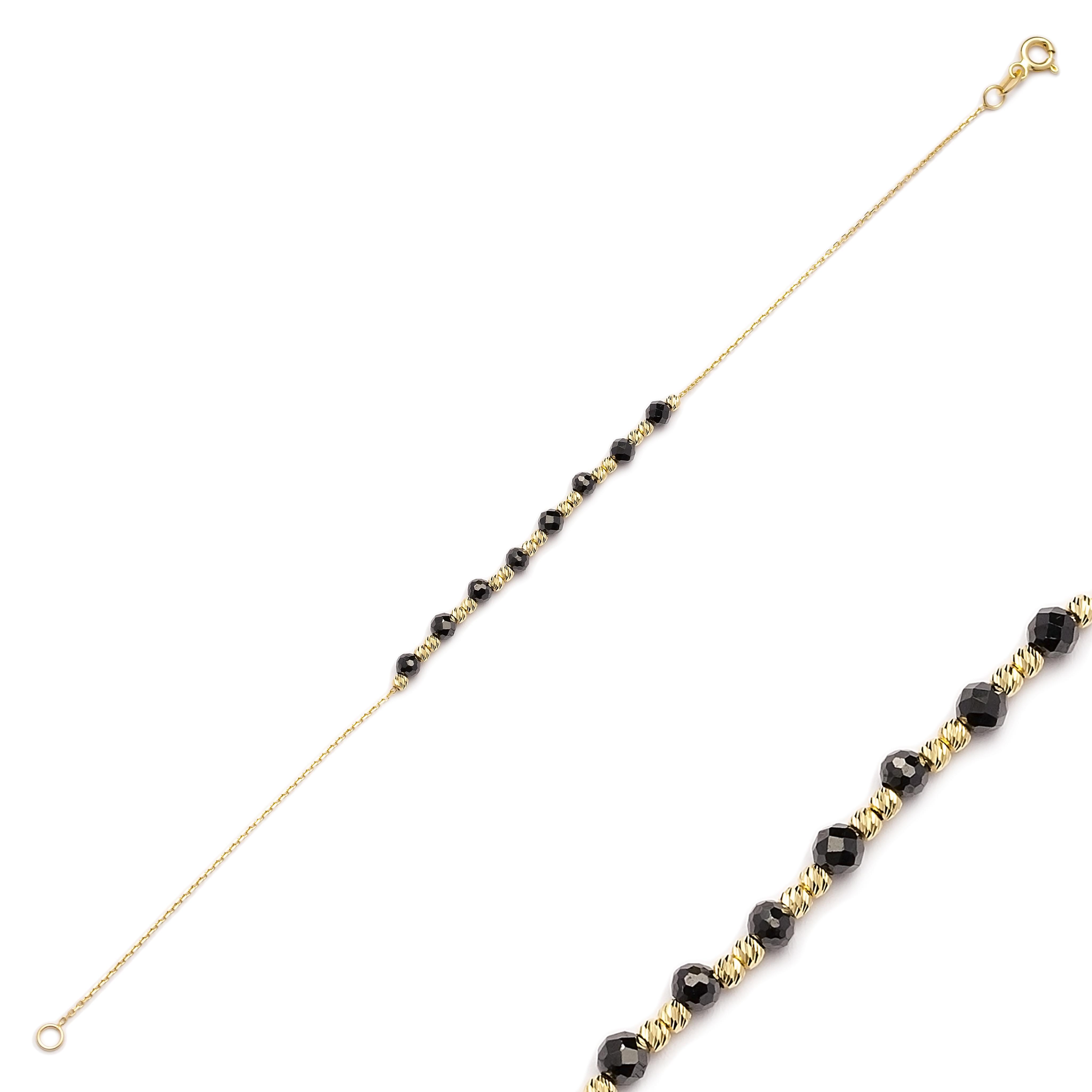 Dainty Elegant Turkish Wholesale 14k Gold Bracelet