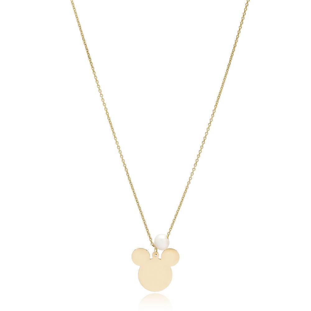 Mouse Design Turkish Wholesale 14k Gold Necklace